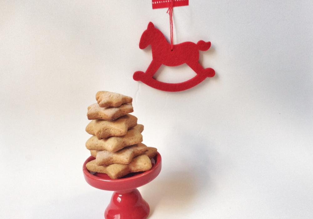 gingerbread biscotti con cavallo a dondolo