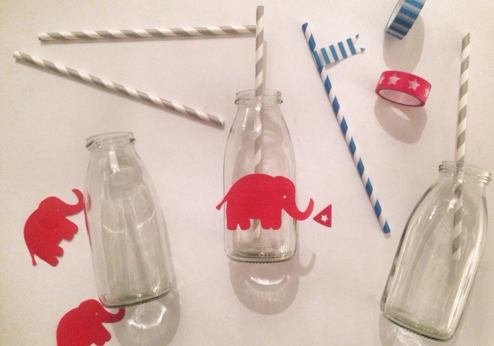 Bottigliette per succo di frutta per compleanno