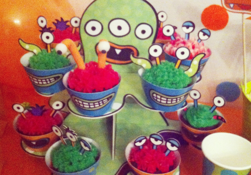 cupcake mostriciattoli