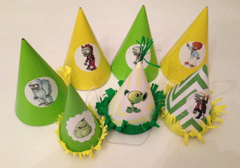 cappellini festa piante contro zombi1