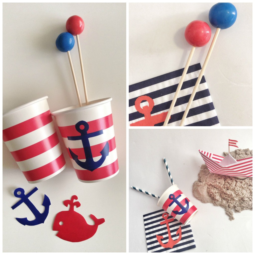 nautical party Collage 1