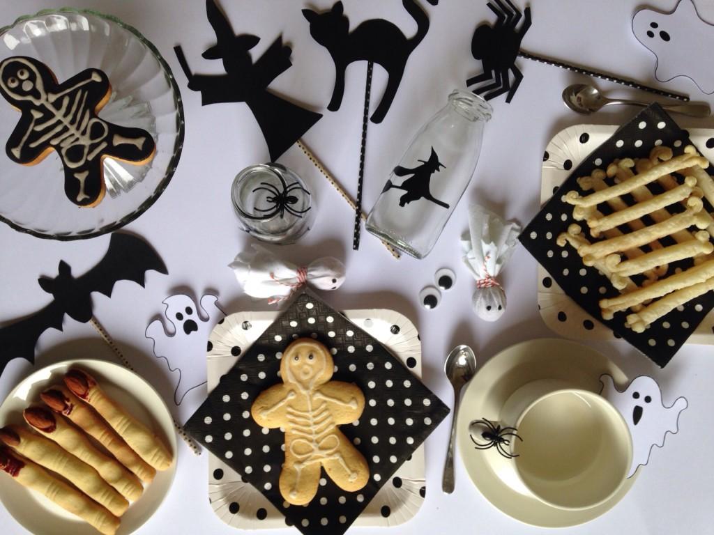 tavola colazione halloween