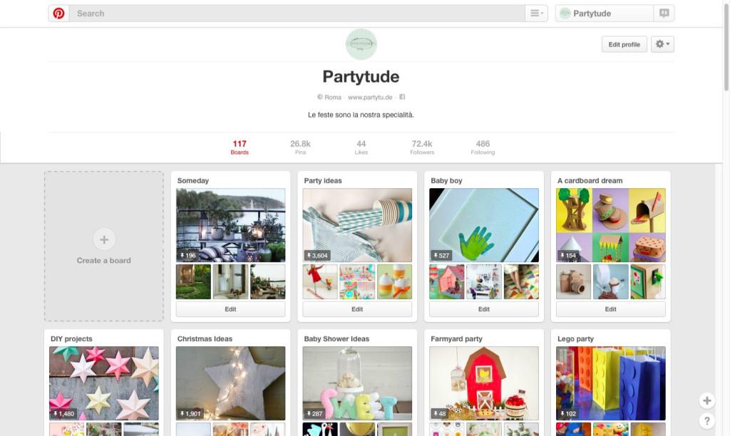 Pinterest Partyude