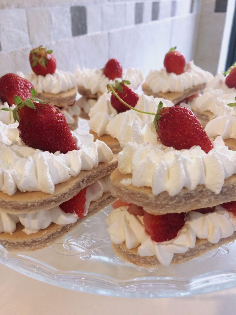 Mini sponge cake alle fragole!