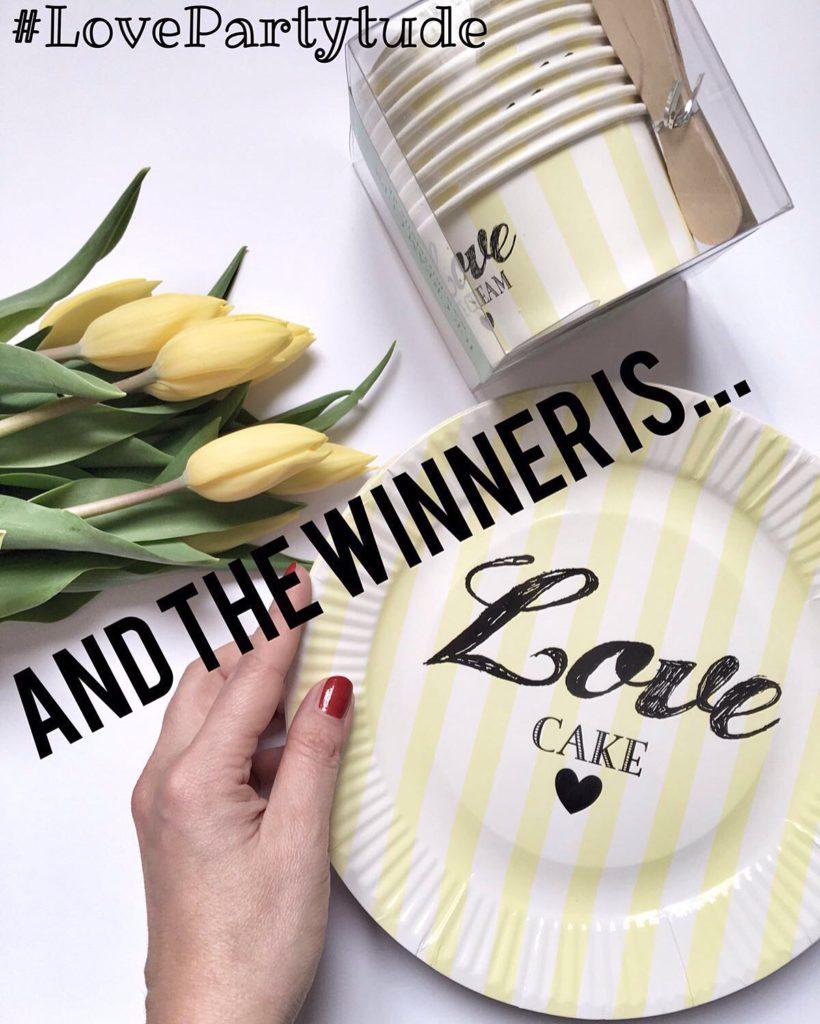 Vincitori del concorso #lovepartytude