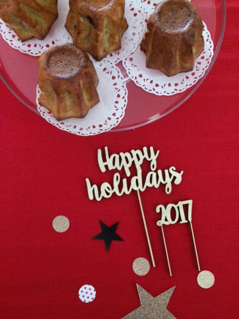 Happy Holidays Segnaposto