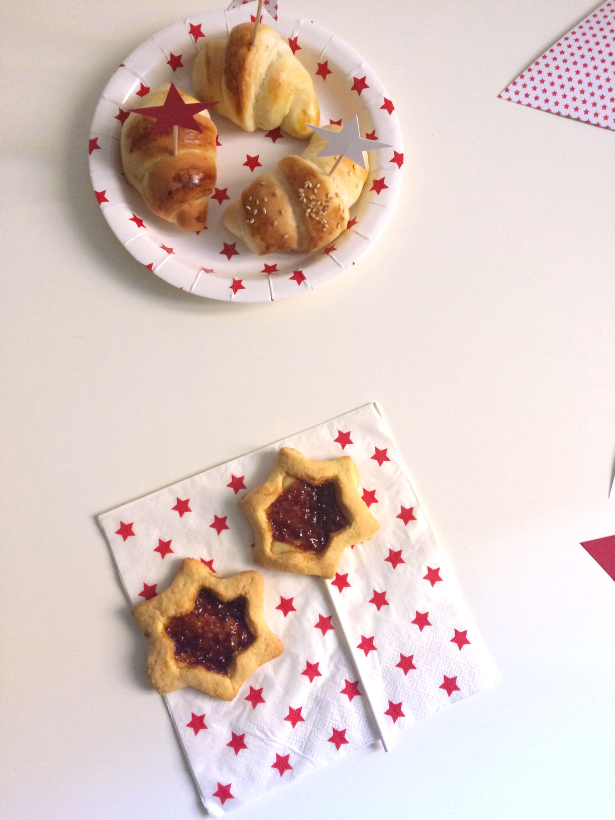 Buffet stellare: dai biscotti alla torta