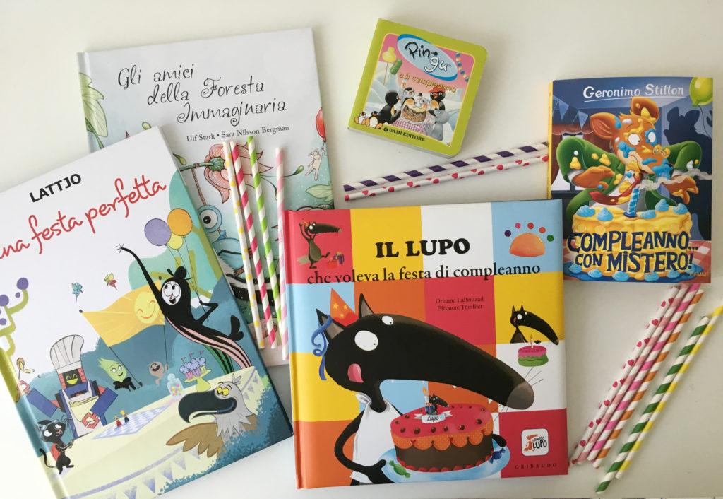 libri a tema festa di compleanno
