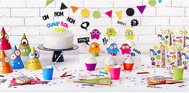 PartyDeco_festa mostriciattoli