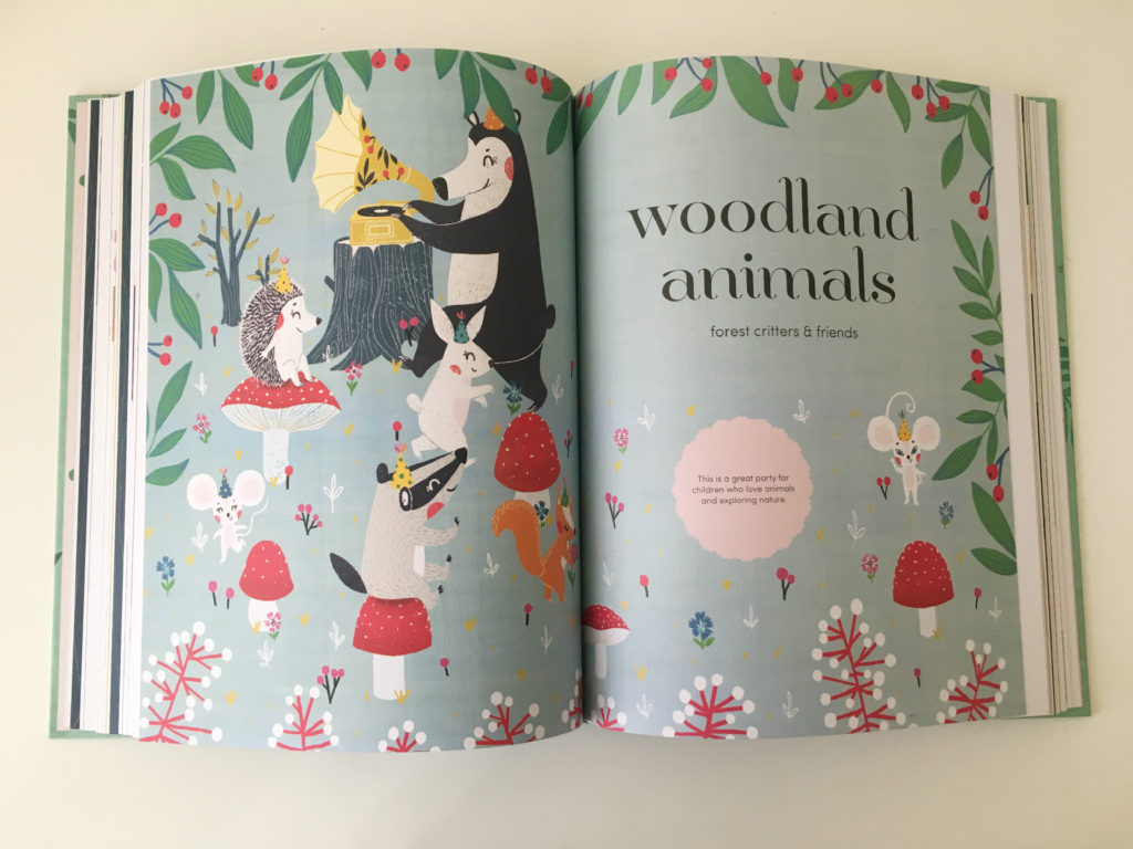 let's party_woodland animals