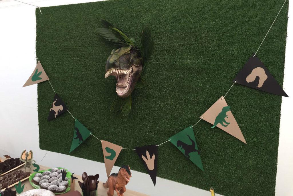 fondale festa Jurassic park