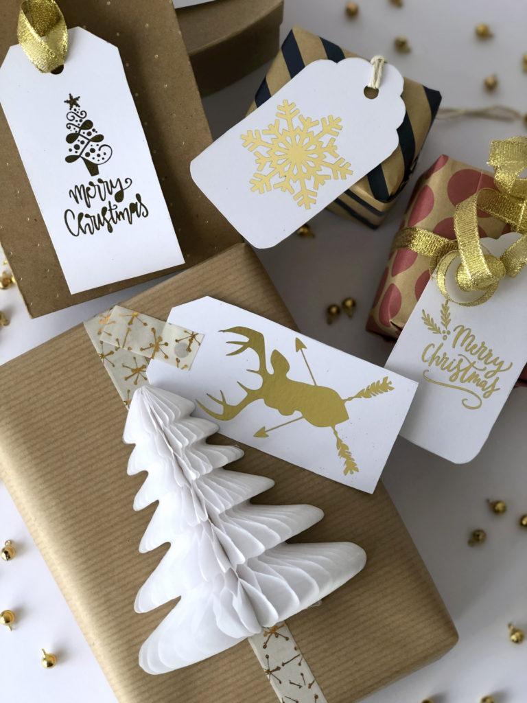 Etichette Natalizie Da Stampare etichette natalizie fai da te - the partytude diaries